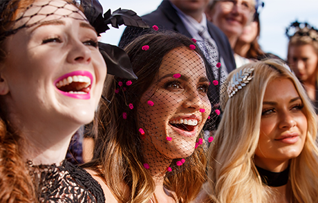 Breast Cancer Network Australia Raceday on Caulfield Cup Day